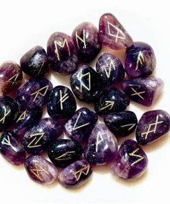 Alfabetul runelor - set de rune din ametist