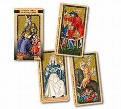 Tarotul de aur al Renasterii - 78 carti lux