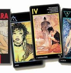 The Erotic Tarot of Manara - 78 carti