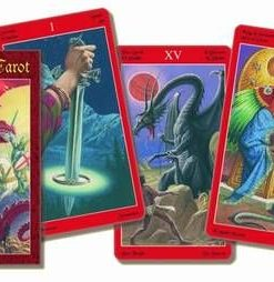 Dragon Tarot - Tarotul dragonilor - 78 carti -mic