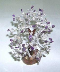 Copacel cu cristal de stanca si ametist - XL