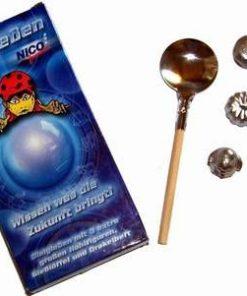 Set pentru divinatie, pe baza de plumb - model deosebit!