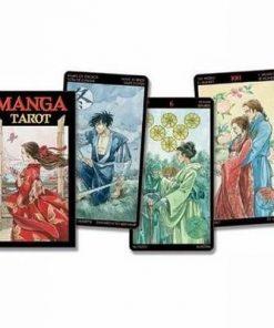 Manga Tarot - 78 carti - lb. romana