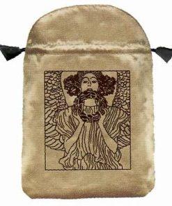 Saculet din satin - Klimt