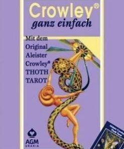 Crowley foate simplu - 78 carti - limba germana