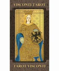 Visconti Tarot - 22 carti - format mare - ed. lux