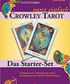 Crowley Tarot - set pentru incepatori - lb. germana