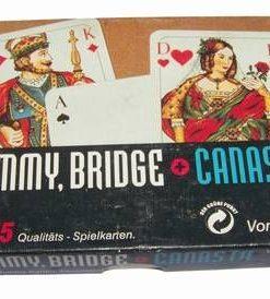 Set de 2 pachet de carti de joc - vintage