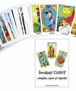 Tarot Rider Waite in limba romana - 78 carti si carte - kit