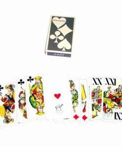Set de carti de joc si Tarot - incomplet