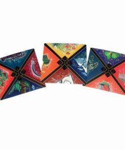 Set de carti-mozaic cu cele 12 animale zodiacale - incomplet