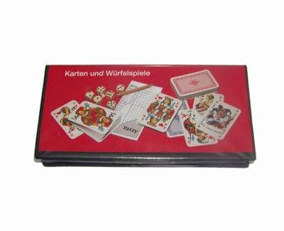 3 seturi de carti cu 2 zaruri si cu caiet de notite