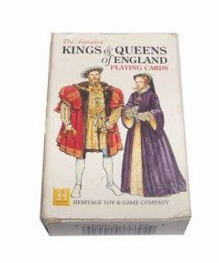 Set de tarot cu regele si regina Angliei
