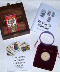Minitarot - Tarotul de Marsilia - kit complet - limba romana