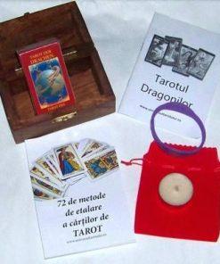 Minitarot - Tarotul Dragonilor - kit complet - limba romana