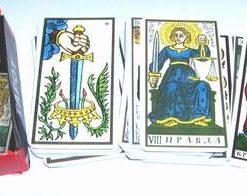 Tarotul de Marsilia - limba rusa - 78 carti